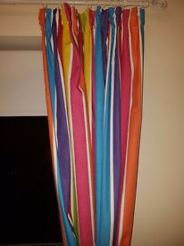 Multi-coloured Curtains