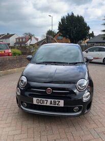 Fiat, 500, Hatchback, 2017, Manual, 1242 (cc), 3 doors