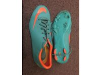 Nike Jnr - Mercurial - Blue football boots size UK 5.5