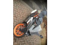 Ktm rc 125 super sport 15 plate less than 4K miles full akprovic exhaust