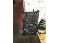 FORD FOCUS 2004 1.8 TDCI RADIATOR