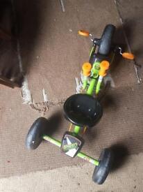 Green machine Go-cart
