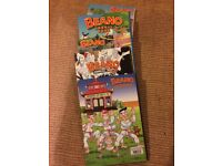 Beano Annuals, 5 in good condition,