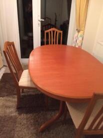 McIntosh Dining table £125 ono