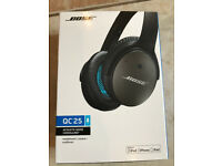 Bose QC25 Acoustic Noise Cancelling Headphones for iOS