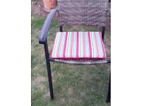 Patio/dining chair cushions (pack of two)