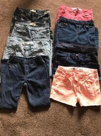 BIG BUNDLE OF GIRLS CLOTHES 7-8 YEARS £20