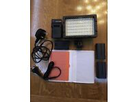 Neewer Studio 216 LED Dimmable on Camera Video Light Lamp for Canon Nikon