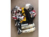 Ice hockey equipment and bag Large/Medium