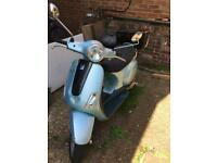 Piaggio vespa 2007 lx50 very low milage 6961km
