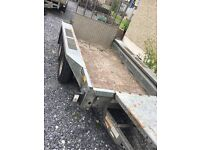 Ifor Williams trailer 8x4