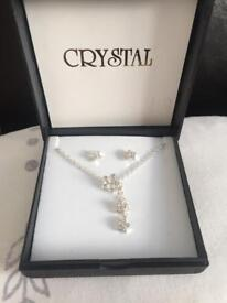 Brand new and boxed jewellery set