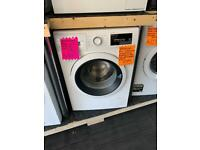 New white 8kg ld Bosch 1400 spin washing machine