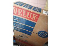 Velux window and flashing kit