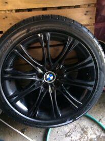 Genuine MV2 BMW alloys 18s