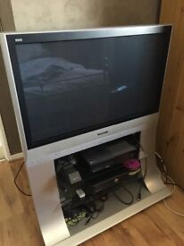 "Vierra panosonic 40"" tv with freeview"