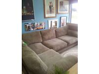 NEW LARGE SCS JUMBO CORNER SOFA CAN DELIVER FREE
