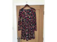 Floral maternity dress, size 10