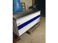 Novum glass chest freezer commercial - shop
