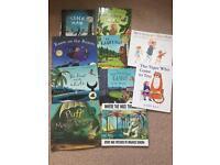 Children's books including Julia Donaldson