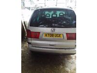FULLY FUNCTIONAL FAMILY CAR, 7 seater, full service history and in good condition