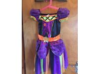 Girls Witches Dress Aged 7-8