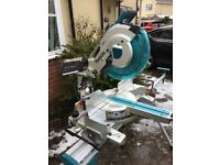 Makita LXT 305mm mitre saw with Makita stand used on great condition