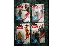 Star wars set of 4 collectable figures rogue one