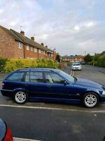 BMW 323i Touring MSport Auto in avus blue