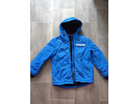 Boys Winter Blue Coat 7-8 yrs old Ex con