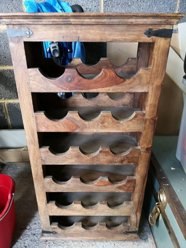 Wooden Wine Rack In Leeds West Yorkshire Gumtree