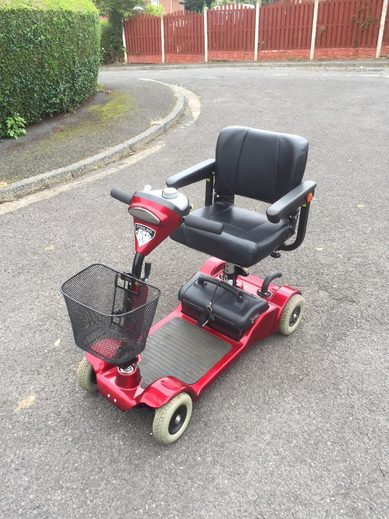 STERLING LITTLE GEM WITH BRAND NEW BATTERIES CAR BOOT MOBILITY SCOOTER