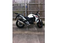 Honda CB500 F - low mileage - comes with panniers and top box - FSH - has been well looked after