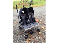 Maclaren twin traveller double buggy