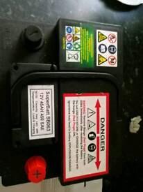 Car battery citroen c1,c2,c3 petrol