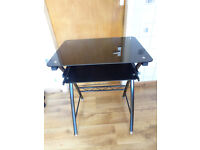 Computer table / desk - With slide out section - In good condition - £25 ONO