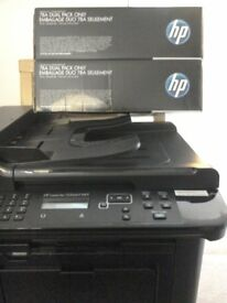 HP Laser Jet 1536 dnf MFPall in one printer & dual pack of print cartridges