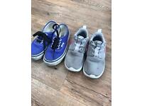 Infant Vans/Nike Trainers Size 9.5/10