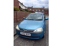 Vauxhall Corsa good little runner/ run about, tidy little car