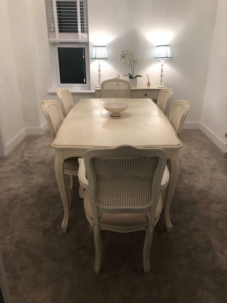 Laura Ashley Provencale Dining Table And 6 Chairs In Robroyston Glasgow Gumtree