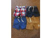 Boys 12-18 months shorts
