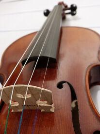 UYEA Violin – with bow, rosin & case