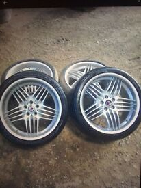 X5 BMW 21 inch Alpina Wheels excellent condition