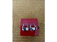 Kenzo Solid Silver Earrings