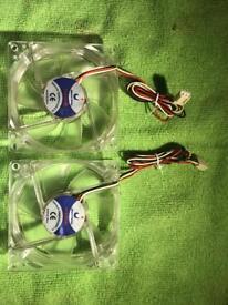 Jeantech Flfan80 80mm x 25mm Case Cooling Fan