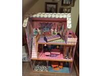 Large Dolls house excellent condition