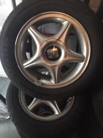 Seat Ibiza 6k2 Alloys