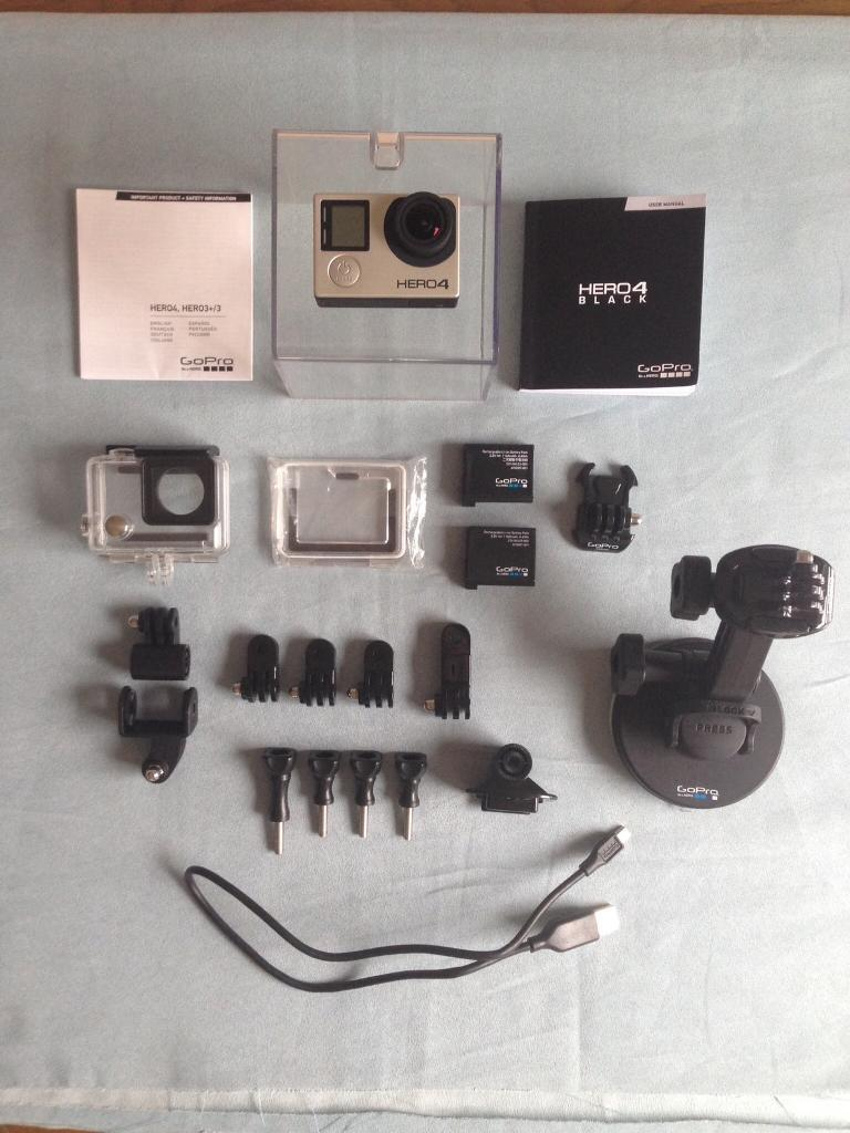 GoPro Hero 4 Black Edition Action Camera and
