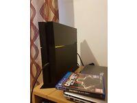 PS4(500GB) + Black Ops 3