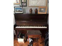 Upright piano: free